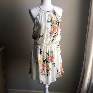 Joie Makana Silk Sheath Dress halter M